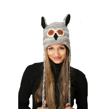 Owl Knitted Hat-0