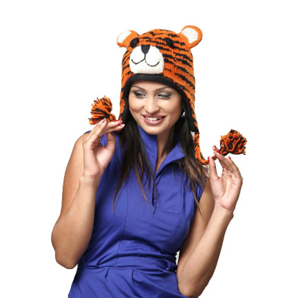 Tiger Knitted Hat-0
