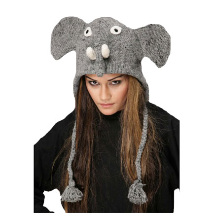 Elephant Knit Hat-0