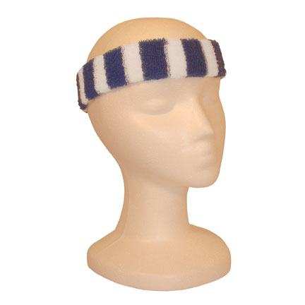 Headband - Blue/White-0