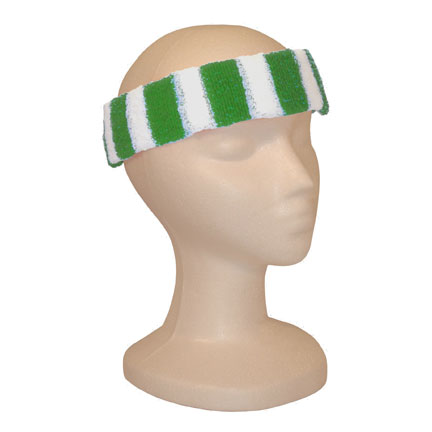 Headband - Kelly/White-0