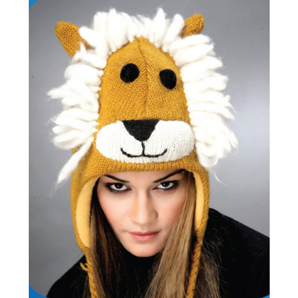 Lion Knitted Hat-0