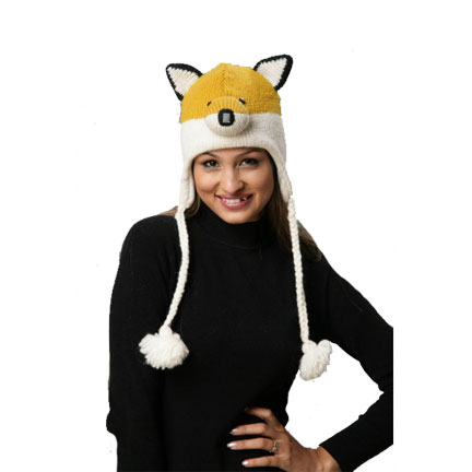 Fox Knitted Hat-0