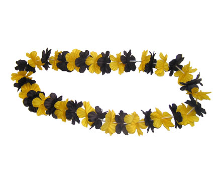 Spirit Lei - Black/Yellow Gold-0