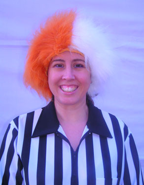 Spirit Wig Burnt Orange/White-0