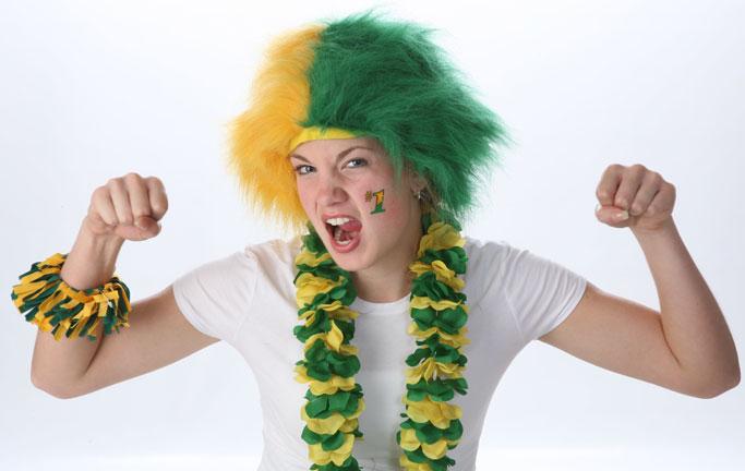 Spirit Wig Green/Yellow-0