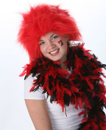 Spirit Wig - Red-0