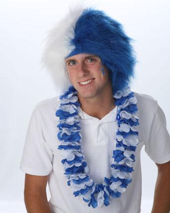 Spirit Wig Blue/White-0