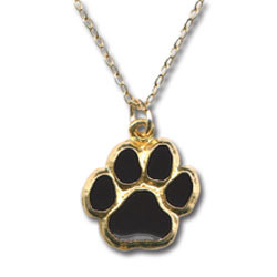 Paw Print Necklace-0