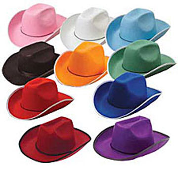 Lt. Blue Cowboy Hat-0
