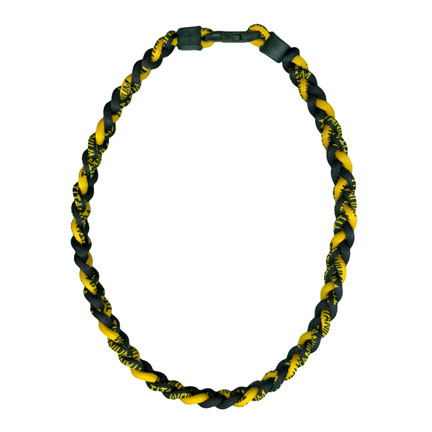 Ionic Necklace - Black & Gold-0