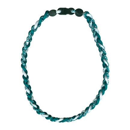 Ionic Necklace - Green & White-0