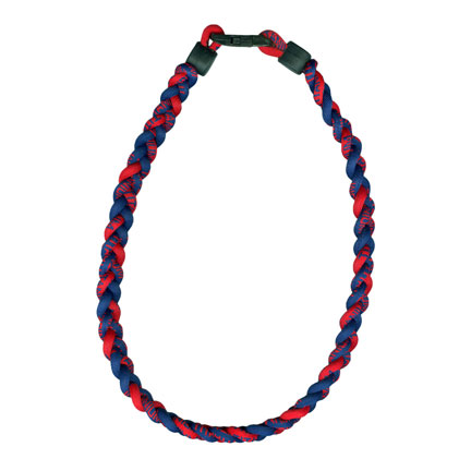 Ionic Necklace - Navy & Red-0