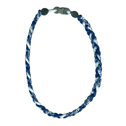 Ionic Necklace - Navy & White-0