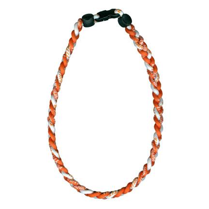 Ionic Necklace - Orange & White-0