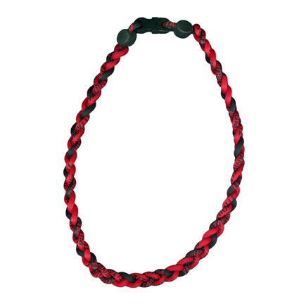 Ionic Necklace - Red & Black-0