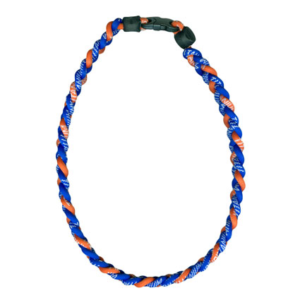Ionic Necklace - Royal & Orange-0