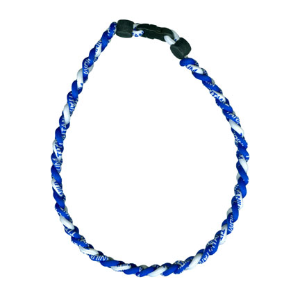 Ionic Necklace - Royal & White-0