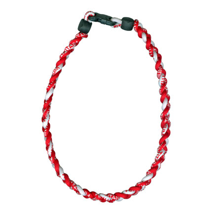 Ionic Necklace - Red & White-0