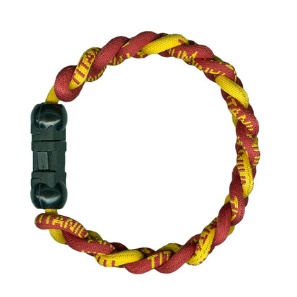 Ionic Bracelet - Burgundy & Gold-0