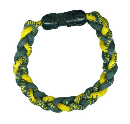 Ionic Bracelet - Green & Gold-0