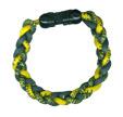 Ionic Bracelet - Green & Gold-11528