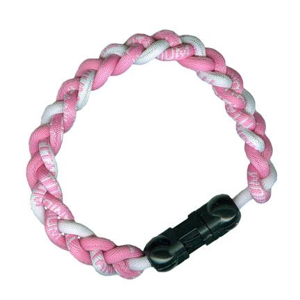 Ionic Bracelet - Pink & White-0