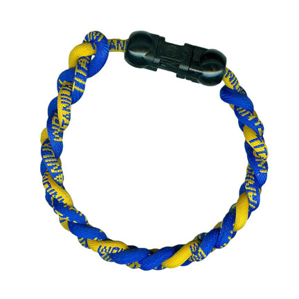 Ionic Bracelet - Royal & Gold-0