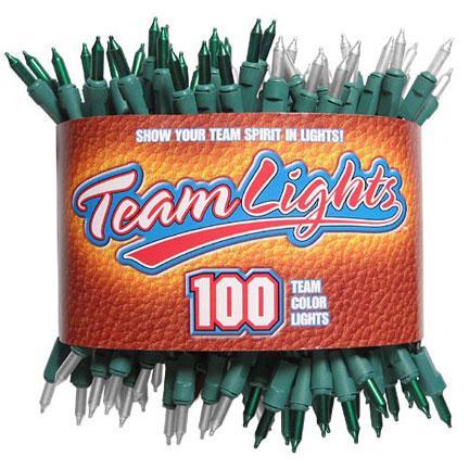 Team Lights - Green & White-0