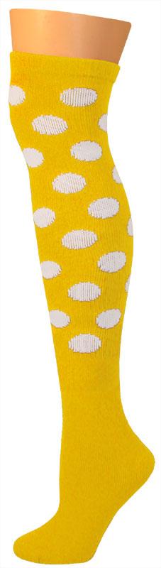 Dots Socks -Gold/White-0