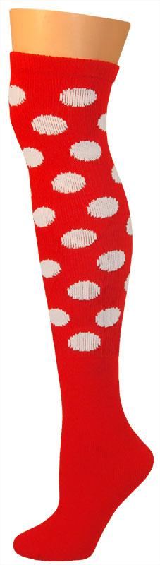 Dots Socks -Red/White-0
