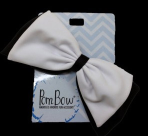 Pom Hairbow - Black & White-0