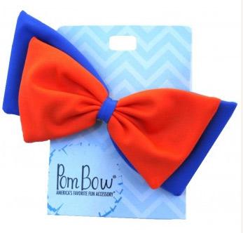 Pom Hairbow - Fanta Orange & Royal-0
