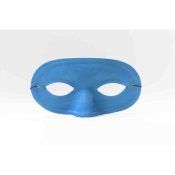 Team Color Domino Mask - Blue-0