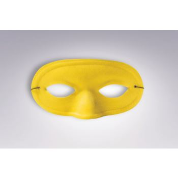 Team Color Domino Mask - Yellow-0