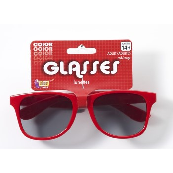 Team Color Blues Glasses - Red-0