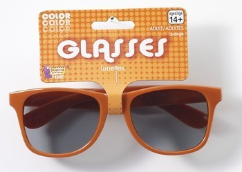 Team Color Blues Glasses - Orange-0