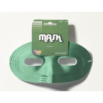 Team Color Domino Mask - Green-0