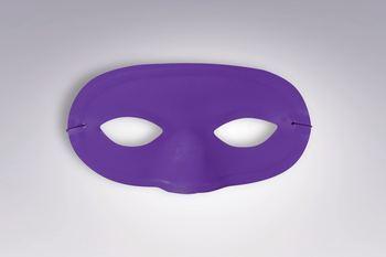 Team Color Domino Mask - Purple-0