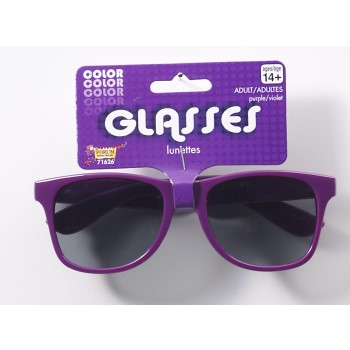 Team Color Blues Glasses - Purple-0