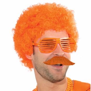 Team Color Moustache - Orange-0