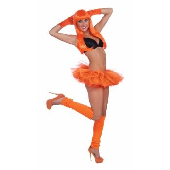 Team Color Tutu - Orange-0