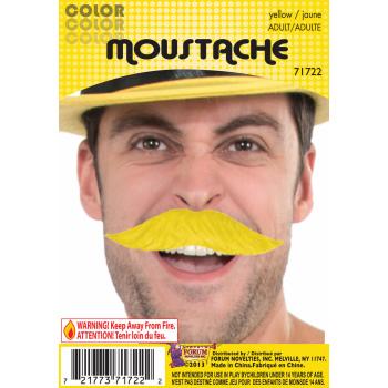 Team Color Moustache - Yellow-0