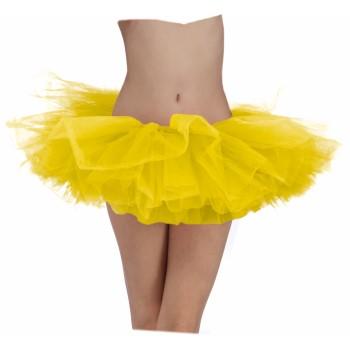 Team Color Tutu - Yellow-0