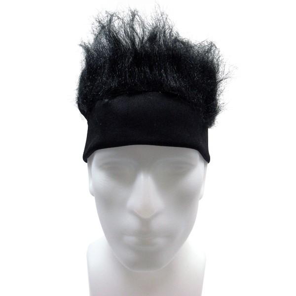 Furry Headband - Black-0