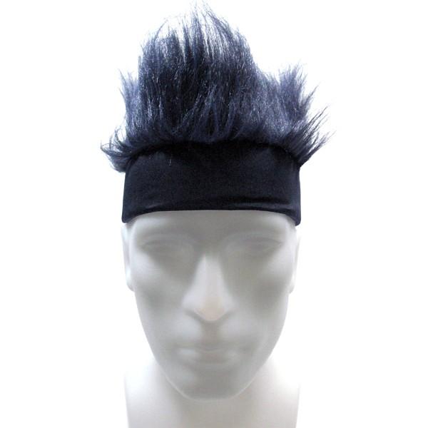 Furry Headband - Navy Blue-0