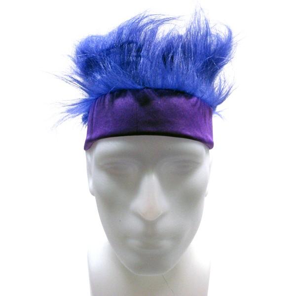 Furry Headband - Purple-0