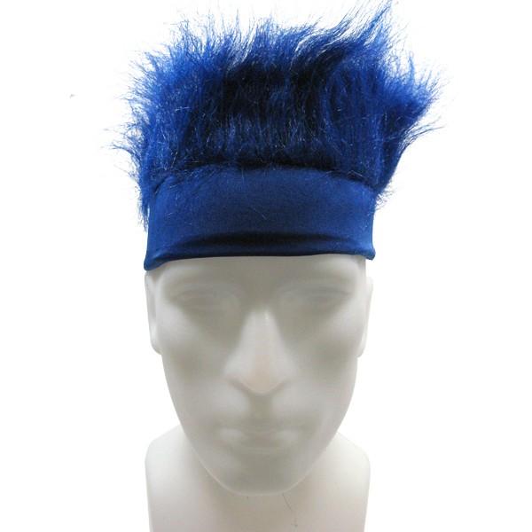 Furry Headband - Blue-0