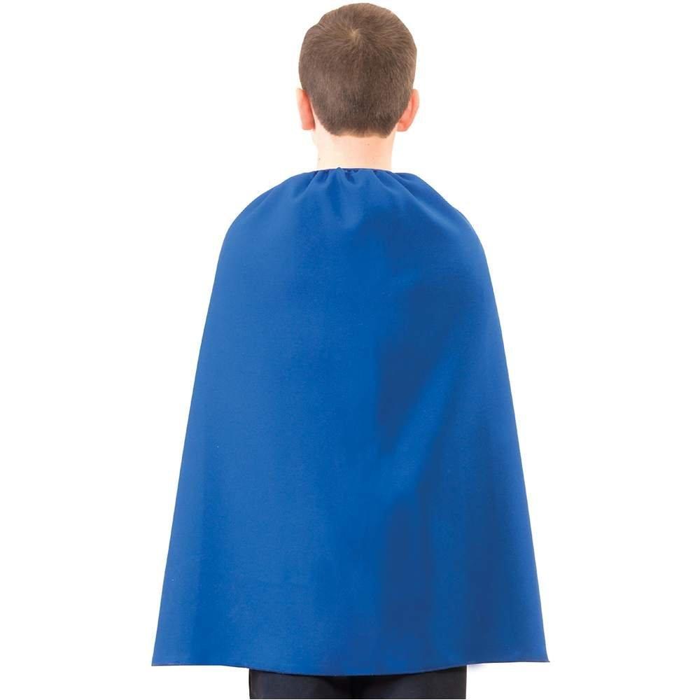 Blue Kids Superhero Team Cape-0
