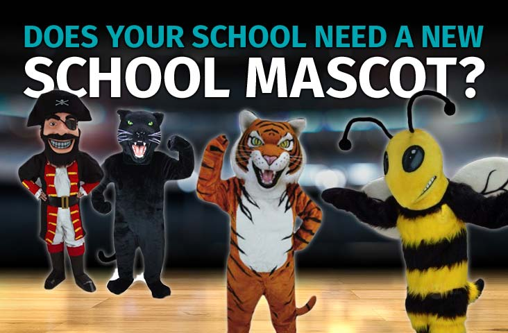 Do you Need a School Mascot? View our Selection